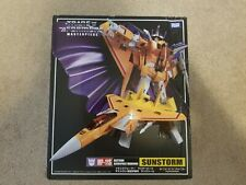 Transformers mp-11s Sunstorm from Takara with collectors coin