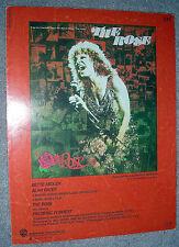 1977 THE ROSE Vintage Sheet Music BETTE MIDLER by Amanda McBroom