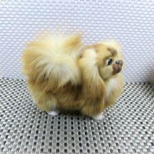small simulation dog toy polyethylene&furs Pekingese dog doll gift 20x8x17cm