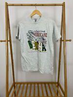 VTG 1996 I Survived Hurricane Bertha Myrtle Beach Short Sleeve T-Shirt Sz M