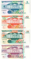 Suriname 4 Banknote Set P#136b - P#139b (1998) UNC