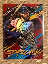 Bubba Starling RC 2020 Topps Fire Red Foil Parallel SP Insert Rookie KC Royals