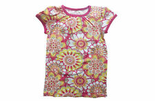 SFK Old Navy Printed Crew-Neck Tees White Floral