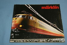 Marklin Katalogue 1983-84 NL