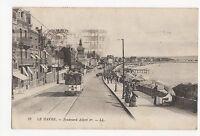 France, Le havre, Boulevard Albert 1er LL Postcard, A498