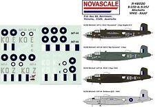 RAAF B-25D&J Mitchells Decals 1/48 Scale N48020