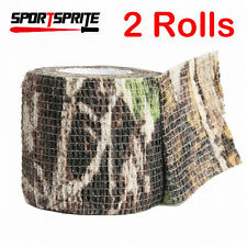 2 Rolls XArmy Camo Wrap Rifle Shooting Hunting Camouflage Stealth Tape 5cm x4.5m
