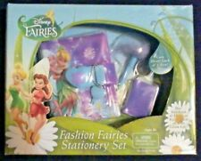 Tinker Bell Peter Pan Disney Fashion Fairies Stationery Gift Set Fairy Pen Diary