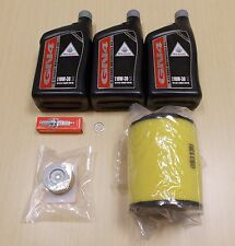 New 2007-2013 Honda TRX 420 TRX420 Rancher ATV Complete Oil Service Tune-Up Kit