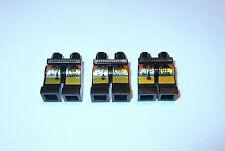 Lego UFO Figuren Bein Hose Schwarz Bedruckt Droid  6816 6800 6975 6836 6902 6979