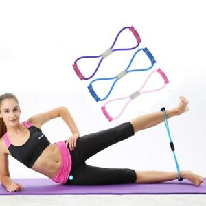 Latex Resistance Bands 8 Word Chest developer latex Tube Yoga Pull Rope