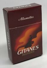 Ancienne Boîte D'Allumettes SEITA Cigarettes GITANES BLONDES Achat Unitaire