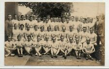 1924 Olympics RPPC Finland Finnish Olympic Team Photo Postcard Paris AN Rare