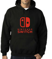 NINTENDO SWITCH Hoodie/Sweatshirt Game Fun Adult Sizes S-2XL
