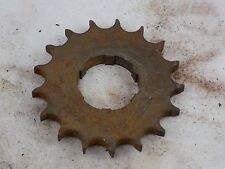 Panther motorcycle part Burman BAP gearbox sprocket 17 teeth M100 M120, Vincent
