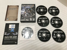Call of Duty 2 PC CD-ROM Software Game 6 Discs with Manual Included