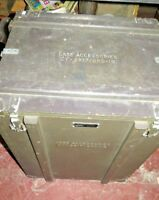 very old Cathode Ray Tube Crate from a school or university Military ??