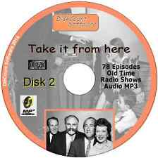 Take It From Here 78 Old Time Radio Episodes Audio MP3 CD OTR June Whitfield No2