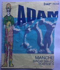 Adamski EMF Original Used Concert Ticket Ritz Manchester 1990