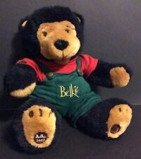 Christmas Plush Belkie Bear 2002 Collectible