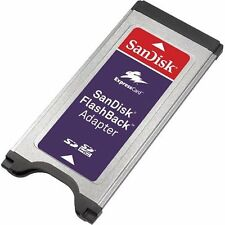 SanDisk FlashBack Adapter Reader for SDHC SD Memory Express Card MacBook Pro/PC