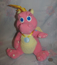 "Vintage Dragon Tales Plush, Cassie 11"" - 12"" Playskool"