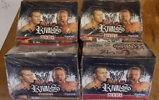 4 x BOXES WW RIVALS WRESTLING STICKERS 200 MERLIN  NEW SEALED
