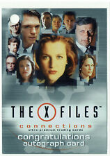 X-Files Connections Autograph Redemption Card AR-1 Gillian Anderson Dana Scully