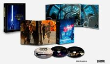 Star Wars VII The Force Awakens 3D Blu-ray DVD & Digital Copy Collectors Box Set
