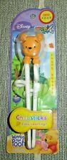 Winnie the Pooh baby plastic Chopsticks learn to use starter Disney Edison New