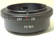 Canon FD to Sony NEX E Lens mount adapter NEW NEX 5R 5N ILCE a3100 a6300 a5300