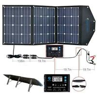 ACOPOWER 120w foldable solar panel suitcase with 20A charge controller