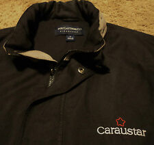 Caraustar Recycled Paperboard Uniform Jacket Hooded Windbreaker for over shirt
