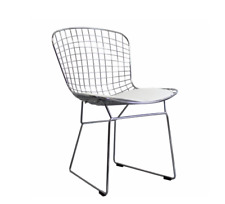 Chaise Wire style Harry Bertoia