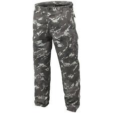 Mil-tec US BDU Pantalón de combate resistente Ejército trabajo uniforme hombre digital negro camuflaje L