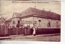 uralte AK Deutsches Soldatenheim KOWEL == Cholmerstrasse Feldpost 1917