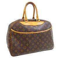 LOUIS VUITTON DEAUVILLE BUSINESS HAND BAG PURSE MONOGRAM MB1002 M47270 31272