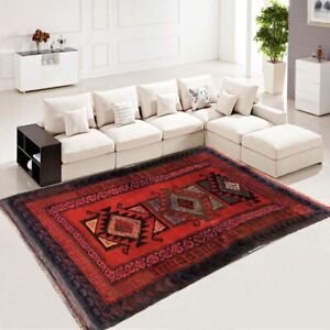 Afghan Handmade Rug Flatweave Rug Oriental Tribal Floor Wool Kilim Rug 3x5