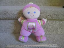 Fisher Price Pink My First Doll Stuffed Plush Baby Rattle Security Lovey 2008