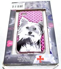 "Fuzzy Nation NYC 'Yorkie"" Hardshell Case For iPhone 4/4S, NEW (See Cond.)"