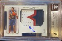 2019-20 National Treasures Bol Bol RPA- *3 Color patch* BGS 9 - Rookie RC - HOT!