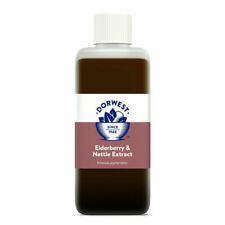 Dorwest Herbs Elderberry and Nettle Extract for Dogs Cats 125 Ml