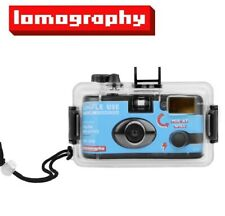 Lomography Simple Use Color 400 Reloadable Film Camera + 10M Underwater Case Us