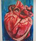 Heart Fine Art Print Of An Original Acrylic Painting By Krysta Logan 8.5x11...