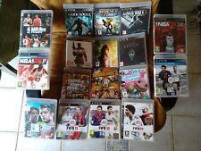 Lote de 17 juegos de PlayStation 3 PS3