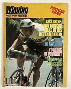80's Vintage Mixed Lot of 5 Winning Cycling Bicycle Racing Illustrated Magazines