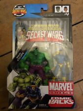 Marvel Universe Comic Packs Hulk & Cyclops AF MUPC 3