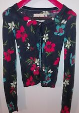 Floral Cardigan XS Hollister Abercrombie & Fitch