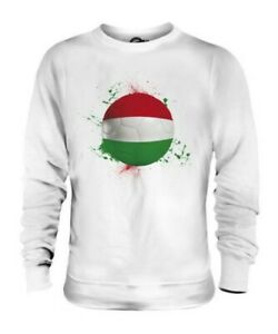 HUNGARY FOOTBALL UNISEX SWEATER TOP GIFT WORLD CUP SPORT