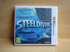 Brand New Factory Sealed SteelDiver Steel Diver Nintendo 3DS 2DS